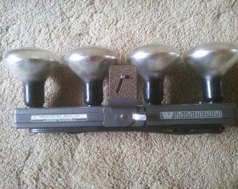 Vintage Light Bar - Vintage Smith-Victor L-50 Light Bar - Camera Light Bar - Filming Light Bar - Movie Light Bar - Light Bar
