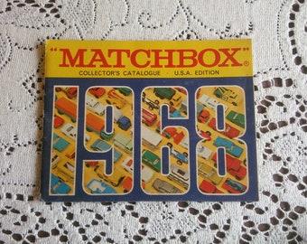 Vintage Matchbox Catalog - 1968 Matchbox Catalog - Matchbox Car Catalog