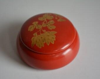 Urushi lacquerware kogo incense container