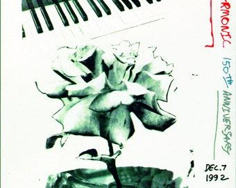 Robert Rauschenberg-New York Philharmonic 150th Anniversary-1992 Poster