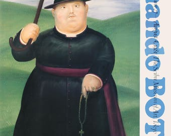 Fernando Botero-Walk Through The Hills-1981 Poster