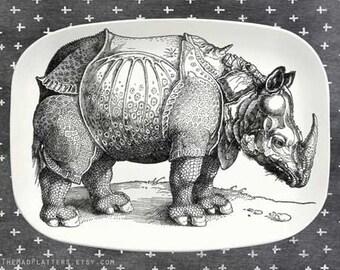 Rhino  melamine serving platter