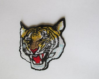 Tiger Patch - iron on or sew on