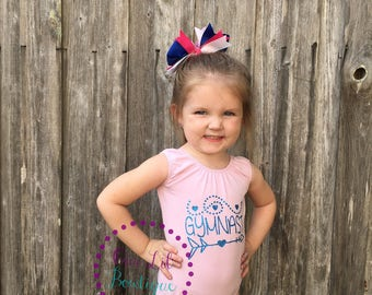 Personalized Leotard - Gymnastics Leotard - Dance Leotard - Birthday Leotard- Dance Birthday - Gymnastics Birthday Monogrammed - Personalize