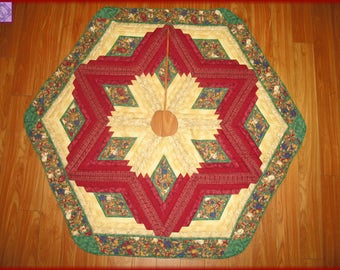 Christmas Quilted Tree Skirt Quilt Joyful Angels 105