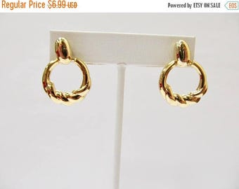 On Sale Retro Golden Dangle Earrings Item K # 1242