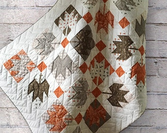 Maple Leaf Quilt - Throw