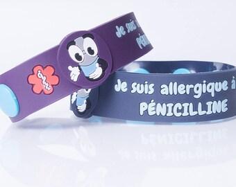 Je suis allergique à la PÉNICILLINE