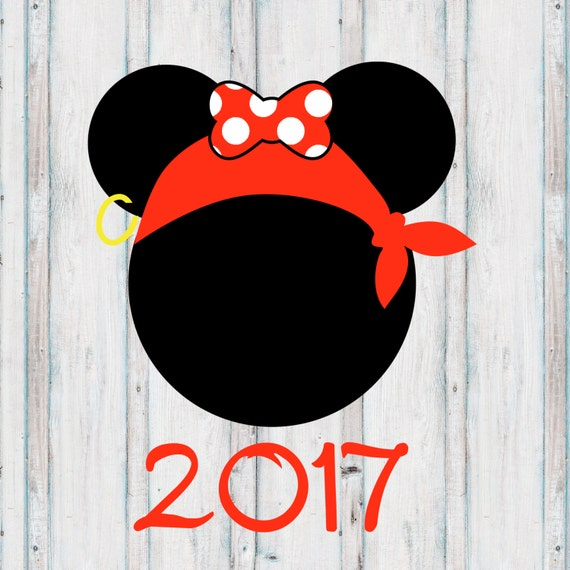 INSTANT DOWNLOAD Disney Family Vacation Cruise Pirate Girl Night 2017 Shirts Printable DIY Iron On to Tee T-Shirt Transfer - Digital File