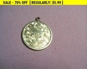 Sarah coventry Taurus pendant, estate jewelry, hippie, boho