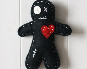 Make Your Own Voodoo Doll Kit, Felt Voodoo Doll Sewing Kit, Voodoo Doll Kit, Sew your own Voodoo Doll