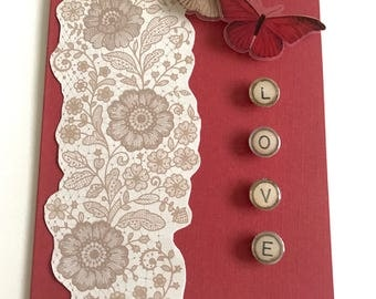 Gifts for Brides/Engagement Cards/Wedding Day Cards/Mother's Day Gift/Congratulations Card/Gift for Her/Card for Her/Valentine's Day Card