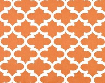SUMMER SALE! Curtains, Window Treatments, Curtain Panels 24W or 50W x 63, 84, 90, 96 or 108L Fynn Cinnamon-Orange Cream Collection shown