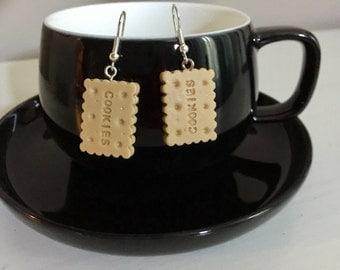 cookie earrings