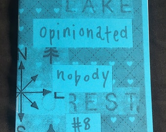 Opinionated Nobody Issue 8 - perzine on Christmas, Star Wars, and anxiety