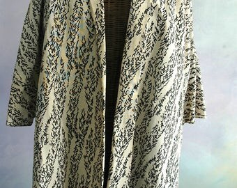 """Vintage Swing Coat - Stunning and Unusual - """"Let's Go Dancing Tonight"""" - SALE"""