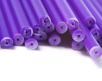Purple Plastic Cake Pop/ Lollipop Sticks 20 ct.