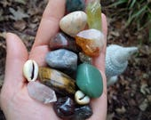 RESERVED Custom Order for Kelly - Crystals for Business Success - Reiki Charged - Prosperity - Money Magick - Manifestation - Solar Pelxus