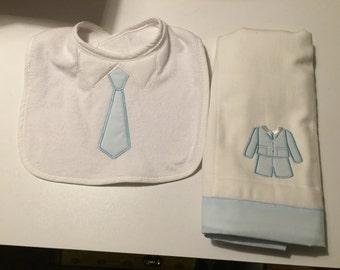 Baby bit burp towel or bib