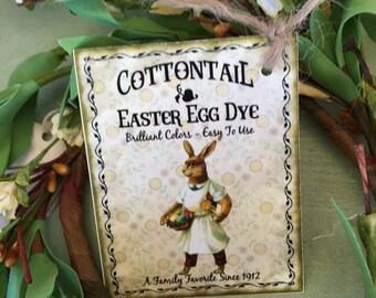 Vintage Easter Advertising Tag
