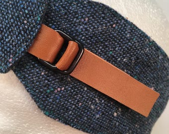 Petrol Blue and Navy Blue Earwarmers