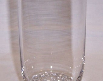 Imperial Crystal CANDLEWICK 5 3/8 Inch High 12 Ounce Flat WATER TUMBLER or Glass