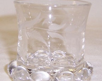 Imperial Crystal CANDLEWICK 2 Inch High TOOTH PICK Holder