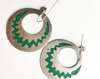 sterling and turqoise earrings