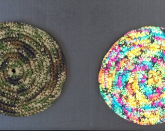 Flying Disk, Flying Frisbee, Crocheted Flying Disk, Crocheted Frisbee, Fun Times,Dog Frisbee ,Dog Toys, Family Fun,