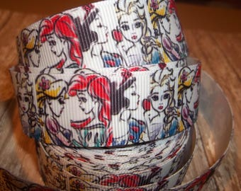 Princess Sketches #2 Grosgrain Ribbon