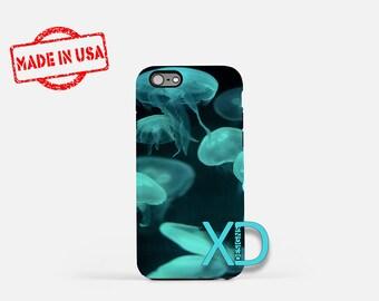 Jellyfish iPhone Case, Ocean iPhone Case, Jellyfish iPhone 8 Case, iPhone 6s Case, iPhone 7 Case, Phone Case, iPhone X Case, SE Case New