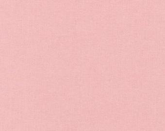 Pink Solid Quilt Fabric Kona Primrose Solid from Robert Kaufman Solid Fabric Solid Pink Pink Material - Kona Solids Solid Light Pink Fabric