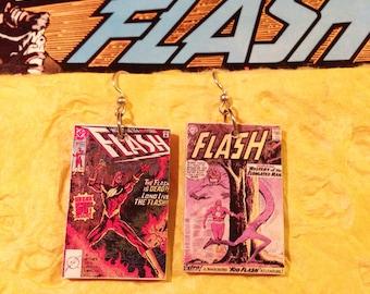 Flash Minicomic Earrings