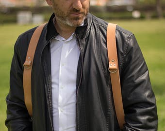 Dual Camera Strap, Double / Triple  Camera Strap, Multi Camera Strap, Photographer Leather Harness, Photographer Gear, Multi Camera Harness