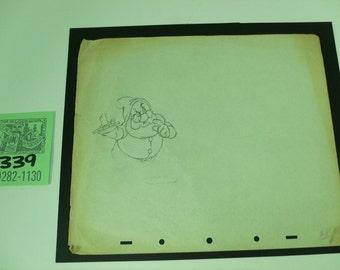 1937 Walt Disney Studios Original Production Art-Snow White and the 7 Dwarfs