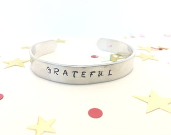 Handmade stamped cuff bracelet, Personalized cuff bracelet, Quote cuff bracelet , Cuff bracelet, Put a message bracelet, Christmas Gift, Cuf