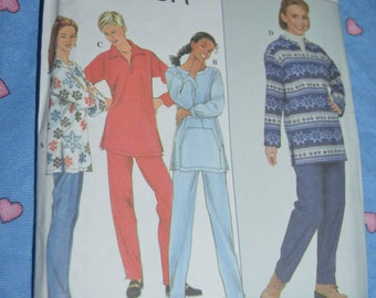 Simplicity 8247  Misses Top and Pants Sewing Pattern - UNCUT - Sizes 12 14 16