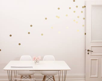 Wall Sticker Large Dots in a Set of 18