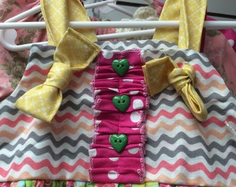 Spring apron dress size 3