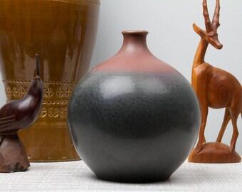 West German Pottery Terraform Vase
