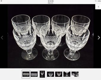 Waterford COLLEEN short stem glasses (7)