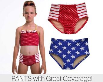 pants pattern, girls leotard pattern pdf, gymnastics pattern, cheer pattern, bikini pattern, swimsuit pattern, PANTS HIGH WAIST