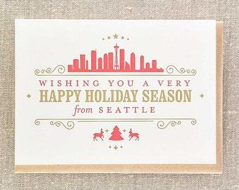 Happy Holidays Season from Seattle