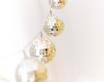 Disco Ball LED Light Garland