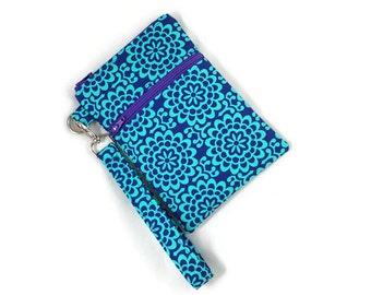 Wristlet / Front Zipper Pocket / Passport Wallet / iPhone / Samsung Galaxy / Cellphone Wallet