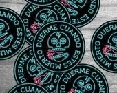 Sleep When You're Dead - Sticker