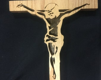 Handmade Jesus Cross