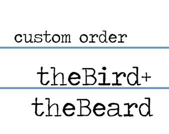 Custom Order for Janna
