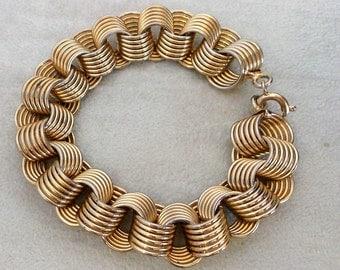 Vintage Gold Tone Bracelet