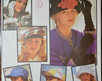 Simplicity 7932, Fashion Accessories, set of Hats and Gloves